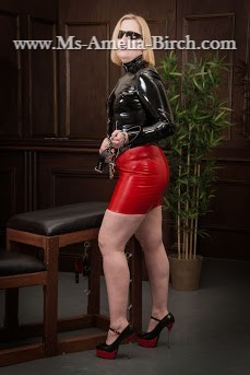 Rubber and PVC in High Heels